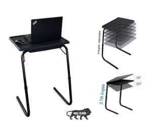 Bi3 Black Table | Best Folding Study Table in India